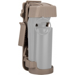 Lancer Tactical Hard Shell Flashbang Grenade Holster - TAN