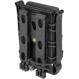 Lancer Tactical Soft Shell .308 MOLLE Magazine Pouch - BLACK