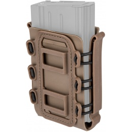 Lancer Tactical Soft Shell .308 MOLLE Magazine Pouch - TAN