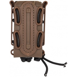 Lancer Tactical Soft Shell Pistol MOLLE Magazine Pouch - TAN