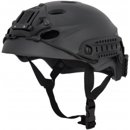 Lancer Tactical Special Forces Recon Tactical Helmet - BLACK