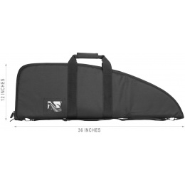 NcStar VISM 36-Inch Padded Universal Rifle and Accessory Bag - BLACK