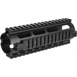 NcStar AR15 Carbine Length Quad Rail System - BLACK