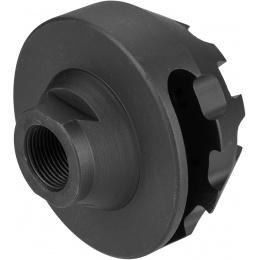 Atlas Custom Works Cookie Cutter (Type A) Compensator 14mm CCW - BLACK