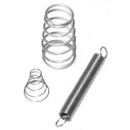 Atlas Custom Works WA M4 GBB Reinforced Nozzle Spring Set - SILVER