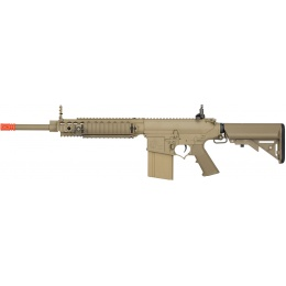 ARES Airsoft SR-25 Carbine AEG w/ Crane Stock and RIS Handguard - TAN