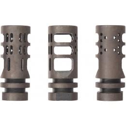 Atlas Custom Works -14mm Airsoft Compensator Muzzle Device - BLACK