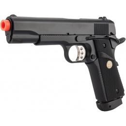 Double Bell M1911 CO2 Blowback MEU Airsoft Pistol - BLACK