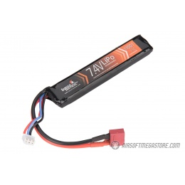 Lancer Tactical 7.4V 1100 mAh 15C Stick LiPo Battery w/ Deans Connector