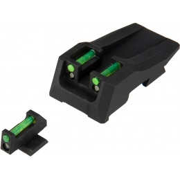 Nine Ball Hybrid Tritium Airsoft Sights for Marui Hi-Capa 5.1