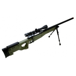 WellFire MK96 AWP Bolt Action Airsoft Sniper Rifle - OD GREEN