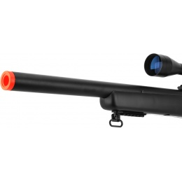 WellFire Bolt Action VSR Airsoft Sniper Rifle w/ 3-9x40 Scope - BLACK