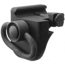 Atlas Custom Works QD Swivel Picatinny Rail Handstop - BLACK