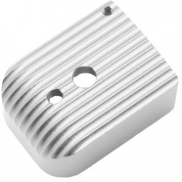 5KU Base Cover for 5.1 Hi-Capa Mags (Type 5) - SILVER