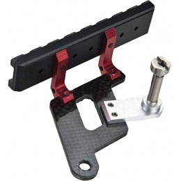 5KU Hi-Capa Metal 20mm Picatinny Rail Mount - RED