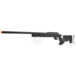 WellFire SR22 Full Metal Type 22 Bolt Action Sniper Rifle - BLACK