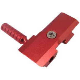 5KU Hi-Capa GBB Round Airsoft Cocking Handle - RED
