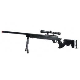 WellFire SR-22 Bolt Action Type 22 Sniper Rifle w/ Scope & Bipod - BLK