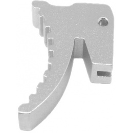 Atlas Custom Works Aluminum Trigger for Hi-Capa GBB (Type 4) - SILVER