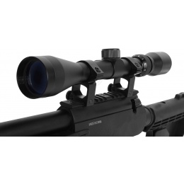 Well APS SR-2 Modular Bolt Action Airsoft Sniper Rifle w/ Scope - BLACK