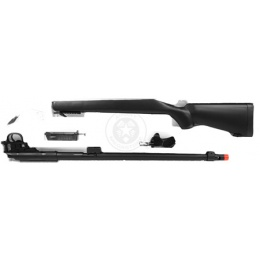 WellFire VSR-10 Bolt Action Airsoft Sniper Rifle w/ Extended Barrel