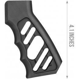 Atlas Custom Works CNC LWP Pistol Grip for M4 GBB Rifles - BLACK