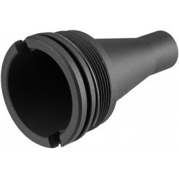 ARES KM12 Tactical CNC Machined Flash Hider - BLACK