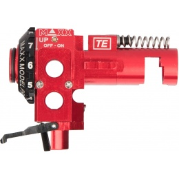 Maxx Model CNC Aluminum Hop-Up Chamber TE PRO - RED