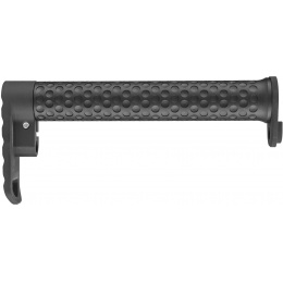 Atlas Custom Works Lightweight M4/M16 Indented Stock Combo - BLACK