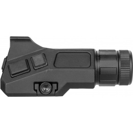 NcStar Green Laser with A2 Iron Front Sight Post - BLACK