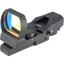 NcStar KeyMod Quick Release 4 Reticle Reflex Optic -  BLACK
