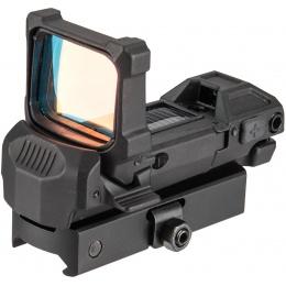 NcStar SPD Solar KPM Universal Flipdot Sight -  BLACK