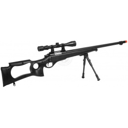 WellFire MB10D Bolt Action Sniper Rifle w/ 3-9x40 Scope and Bipod