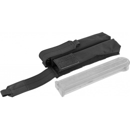 Flyye Industries Double UMP/P90 Magazine Pouch - BLACK