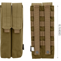Flyye Industries Double UMP/P90 Magazine Pouch - COYOTE BROWN