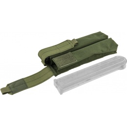 Flyye Industries Double UMP/P90 Magazine Pouch - OD GREEN