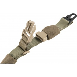 Flyye Industries 1000D Nylon Tactical Three Point Sling - RANGER GREEN