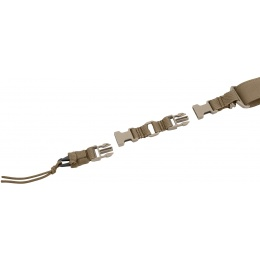 Flyye Industries 1000D Nylon Single/Double Point Hybrid Sling - COYOTE BROWN