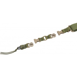 Flyye Industries 1000D Nylon Single/Double Point Hybrid Sling - OD GREEN
