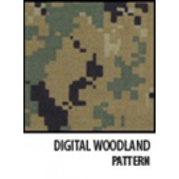 McNETT Camo Form Protective Camouflage Fabric Wrap - DIGITAL WOODLAND
