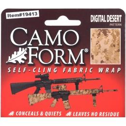 McNETT Airsoft Protective Camouflage Fabric Wrap - Digital Desert Camo