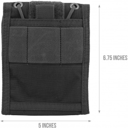 Flyye Industries Versatile Identification Storage Wallet - BLACK