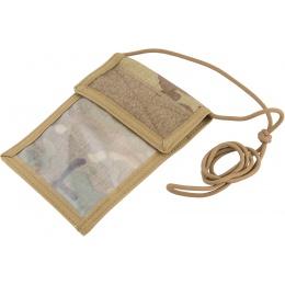 Flyye Industries Neck Identification Storage Wallet - MULTICAM