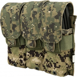 Flyye Industries 1000D Triple M4/M16 Magazine Pouch - WOODLAND DIGITAL