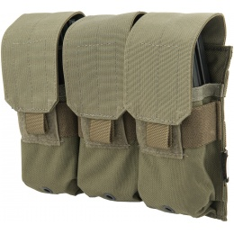Flyye Industries 1000D Triple M4/M16 Magazine Pouch - RANGER GREEN