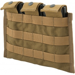 Flyye Industries Snap Button Triple M4/M16 Magazine Pouch - COYOTE BROWN