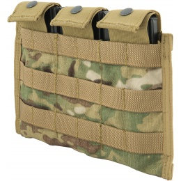 Flyye Industries Snap Button Triple M4/M16 Magazine Pouch - MULTICAM