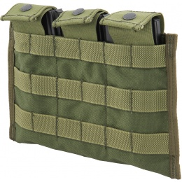 Flyye Industries Snap Button Triple M4/M16 Magazine Pouch - OD GREEN