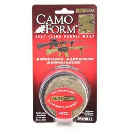 McNETT Camo Form Protective Camouflage Fabric Wrap - MULTICAM CAMO