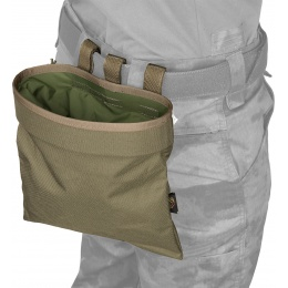 Flyye Industries Snap-Button Tactical Roll-Up Drop Pouch - RANGER GREEN